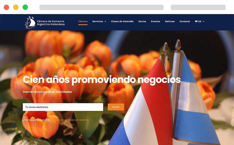 Camara de comercio Argentino Holanda