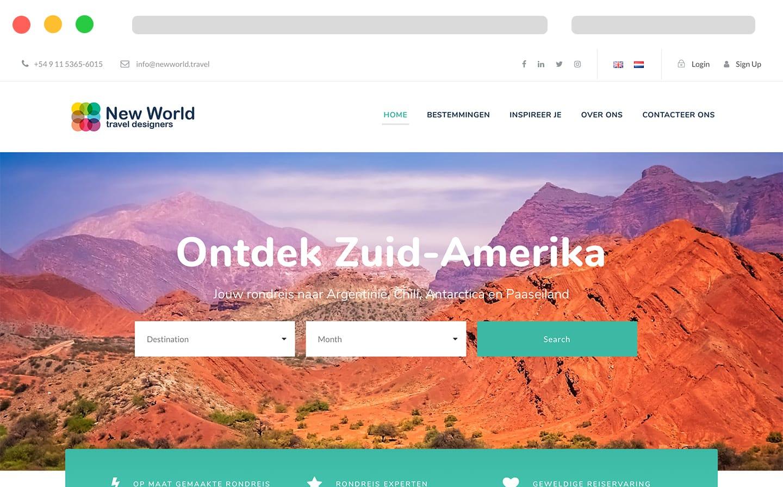 New World travel designers Argentina